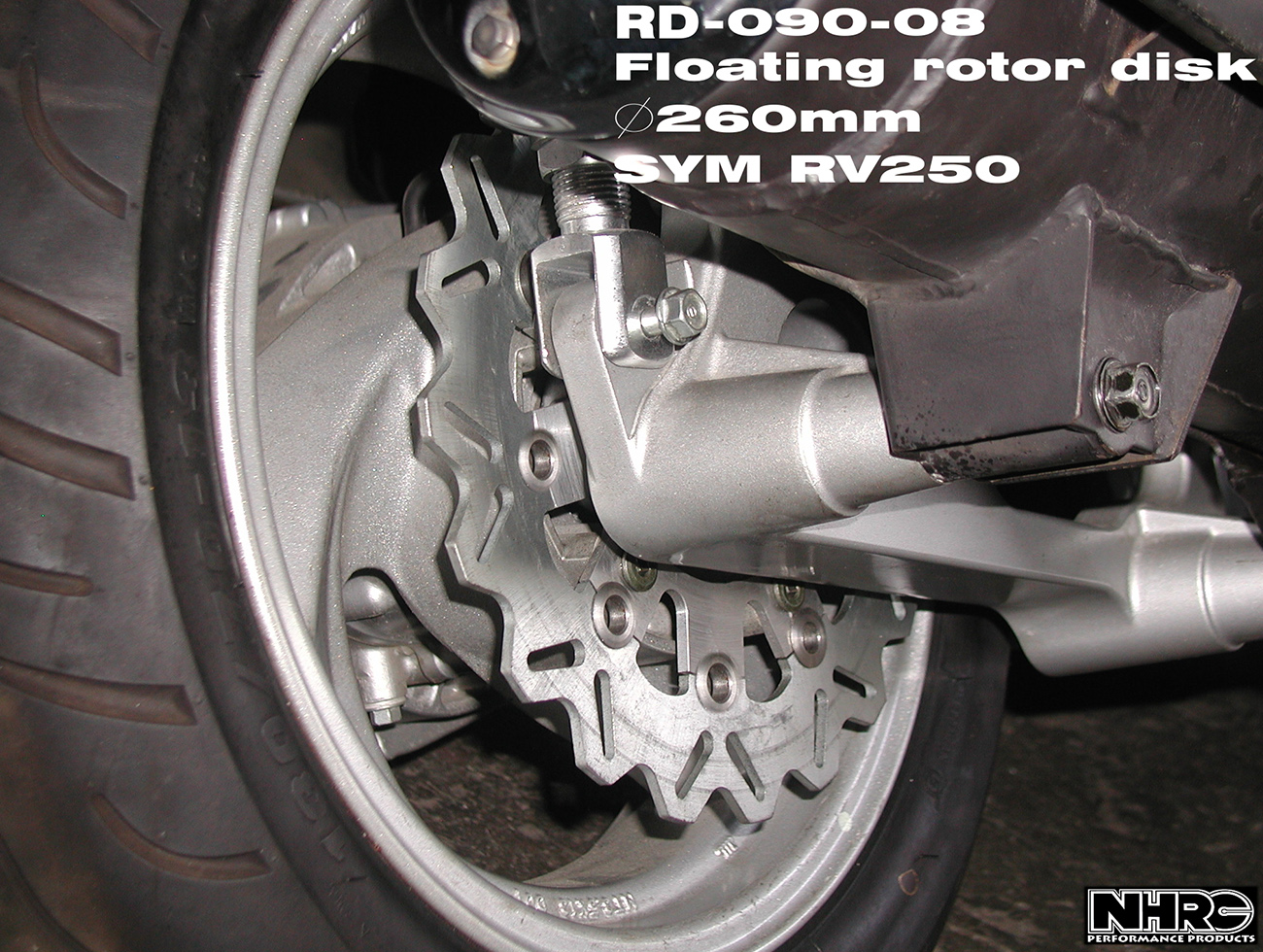 Floating Rotor Disc-Rear